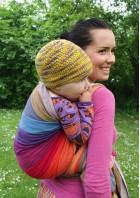 Earthy Rainbow Wrap