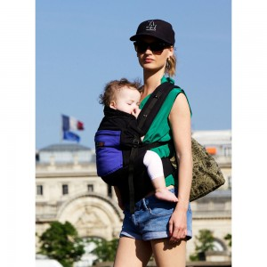 JPMBB Physiocarrier Black and Blue